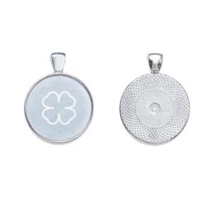 ciondolo protezione onde elettromagnetiche argento